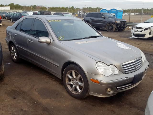 2007 Mercedes-benz C 280 4mat 3.0. Lot 56792889 Vin WDBRF92H77F898101