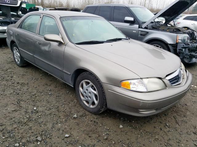 2001 Mazda 626 es 2.0. Lot 57846819 Vin 1YVGF22C615220449