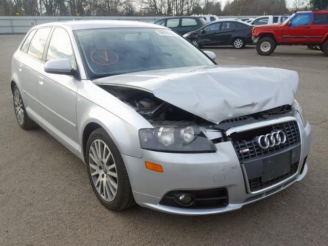 2007 Audi A3 2 2.0. Lot 58470329 Vin WAUHF78P17A156352