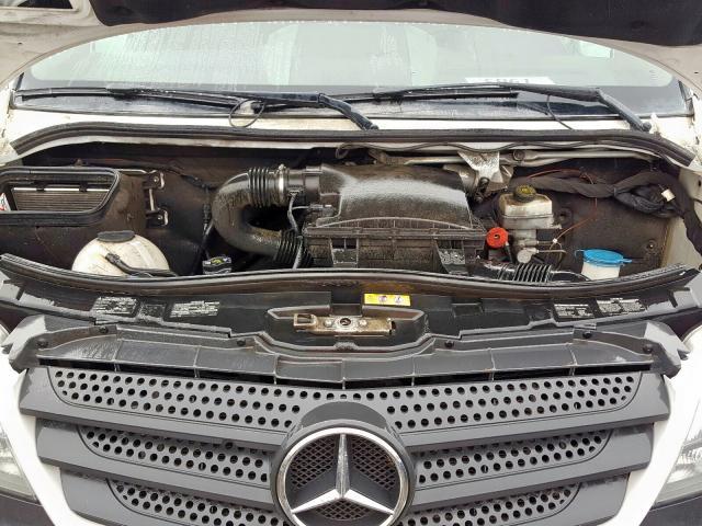 2015 Mercedes-benz Sprinter 2 3.0. Lot 58569799 Vin WD3PE8CC7FP156079