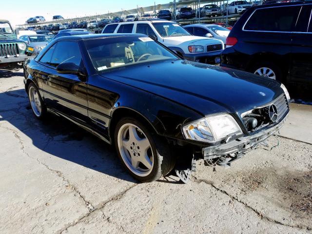 2001 Mercedes-benz Sl 500 5.0. Lot 56677179 Vin WDBFA68F51F199076