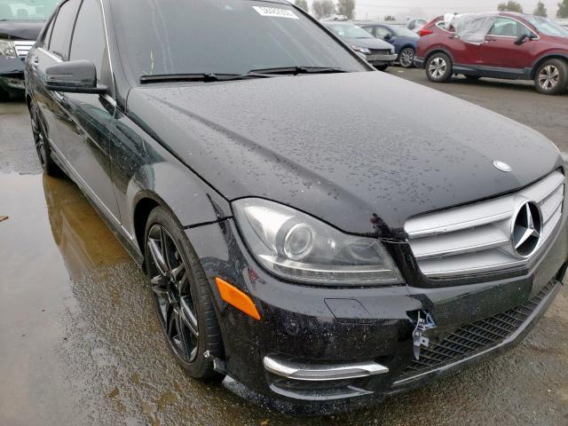 2013 Mercedes-benz C 250 1.8. Lot 58482959 Vin WDDGF4HB1DA804050
