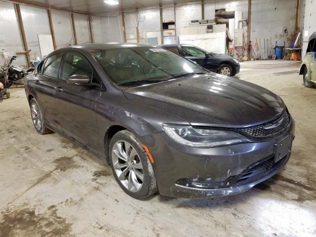 2015 Chrysler 200 s 2.4. Lot 59172879 Vin 1C3CCCBB5FN707986