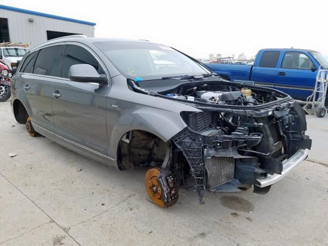 2014 Audi Q7 premium 3.0. Lot 59500489 Vin WA1LGBFE7ED011093