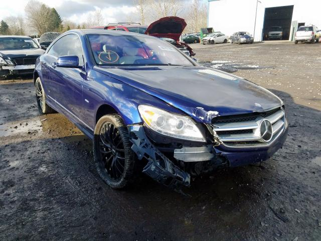 2011 Mercedes-benz Cl 550 4ma 4.6. Lot 60797299 Vin WDDEJ9EB8BA027726