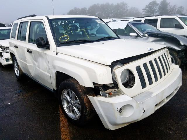 2008 Jeep Patriot sp 2.4. Lot 54949509 Vin 1J8FT28W28D789559