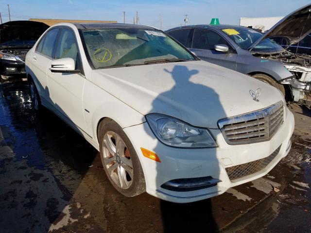 2012 Mercedes-benz C 250 1.8. Lot 60311459 Vin WDDGF4HB6CA601122