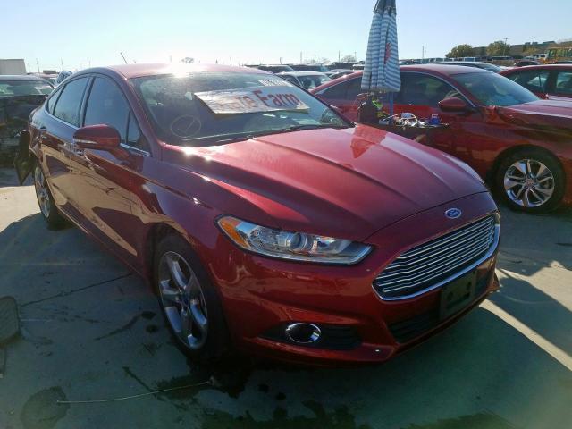 2014 Ford Fusion se 2.0. Lot 60920559 Vin 3FA6P0H98ER275542