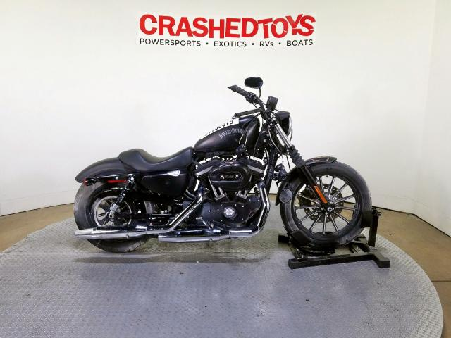 2015 Harley-davidson Xl883 iron . Lot 51928119 Vin 1HD4LE213FC444104