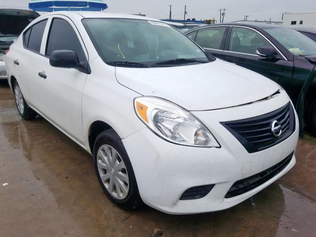 2014 Nissan Versa s 1.6. Lot 60815219 Vin 3N1CN7AP9EL845364