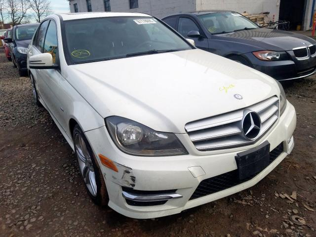 2012 Mercedes-benz C 250 1.8. Lot 61178699 Vin WDDGF4HB9CA713753