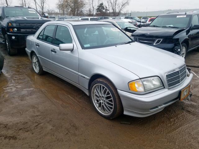 2000 Mercedes-benz C 280 2.8. Lot 61244319 Vin WDBHA29G0YA841042