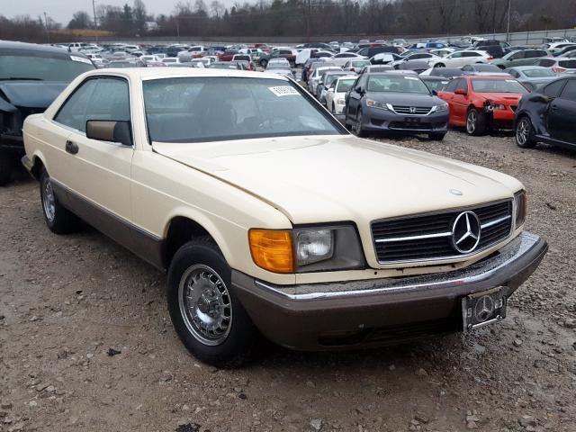 1983 Mercedes-benz 380 sec 3.8. Lot 61691399 Vin WDBCA43A3DB004963