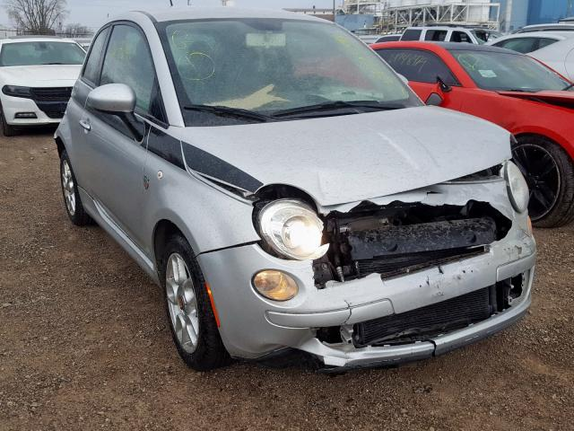 2012 Fiat 500 pop 1.4. Lot 26338440 Vin 3C3CFFAR5CT124143