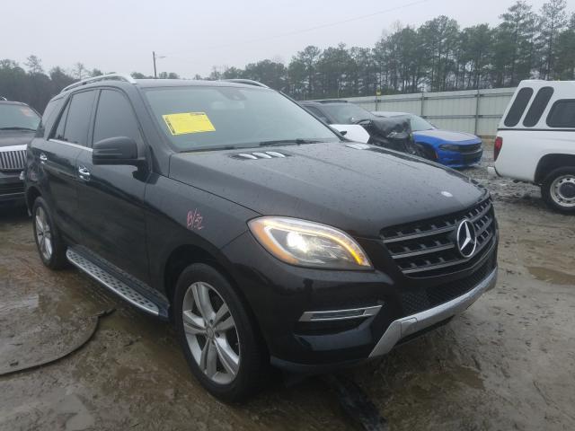 2014 Mercedes-benz Ml 350 3.5. Lot 27712040 Vin 4JGDA5JB3EA284670