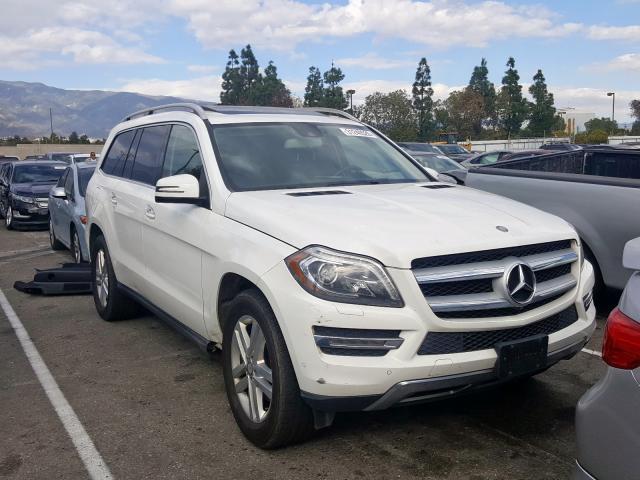 2015 Mercedes-benz Gl 450 4ma 3.0. Lot 37248600 Vin 4JGDF6EE9FA492324