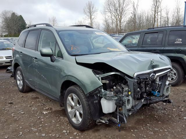 2015 Subaru Forester 2 2.5. Lot 31783640 Vin JF2SJAHC7FH501229