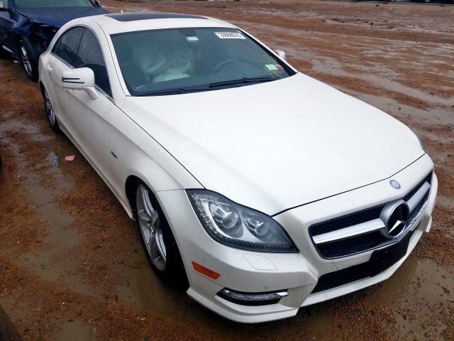 2012 Mercedes-benz Cls 550 4.6. Lot 33669070 Vin WDDLJ7DB1CA029879