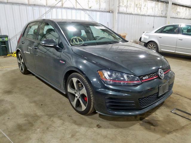 2015 Volkswagen Gti 2.0. Lot 33995340 Vin 3VW4T7AU9FM030975