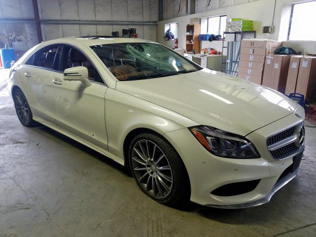 2016 Mercedes-benz Cls 400 3.0. Lot 34361060 Vin WDDLJ6FB1GA166124