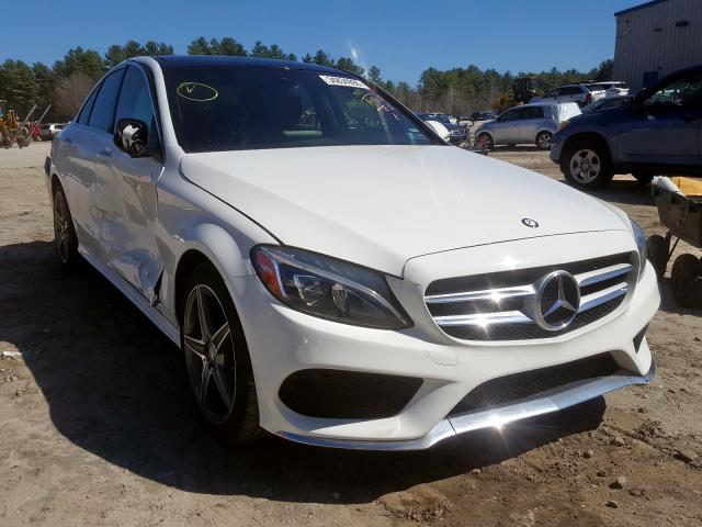 2015 Mercedes-benz C 400 4mat 3.0. Lot 34834990 Vin 55SWF6GB8FU031900