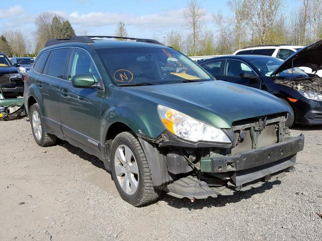 2011 Subaru Outback 2. 2.5. Lot 35508940 Vin 4S4BRBCC3B3318921