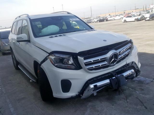 2018 Mercedes-benz Gls 450 4m 3.0. Lot 36773870 Vin 4JGDF6EE9JB072775