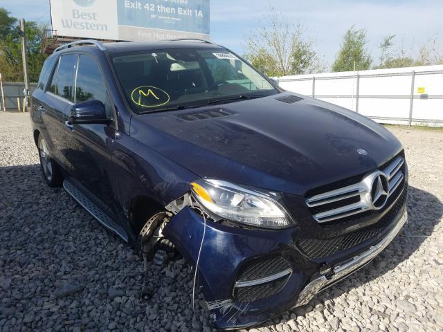 2016 Mercedes-benz Gle 350 4m 3.5. Lot 36884070 Vin 4JGDA5HB0GA762021
