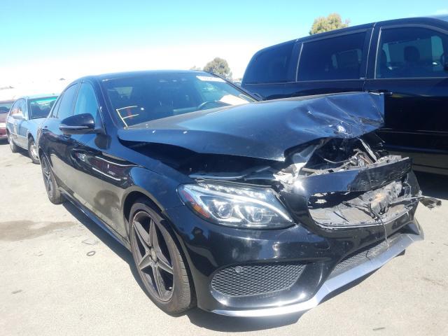 2016 Mercedes-benz C 450 4mat 3.0. Lot 38626750 Vin 55SWF6EB1GU113925