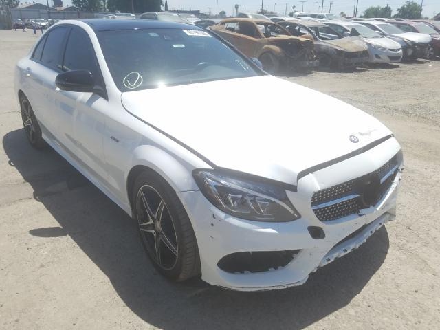 2016 Mercedes-benz C 450 4mat 3.0. Lot 40196150 Vin 55SWF6EB6GU113984