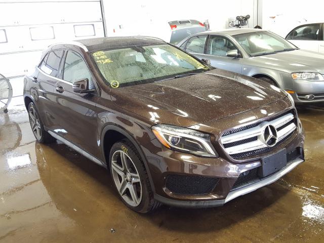2015 Mercedes-benz Gla 250 4m 2.0. Lot 40614830 Vin WDCTG4GB9FJ185895