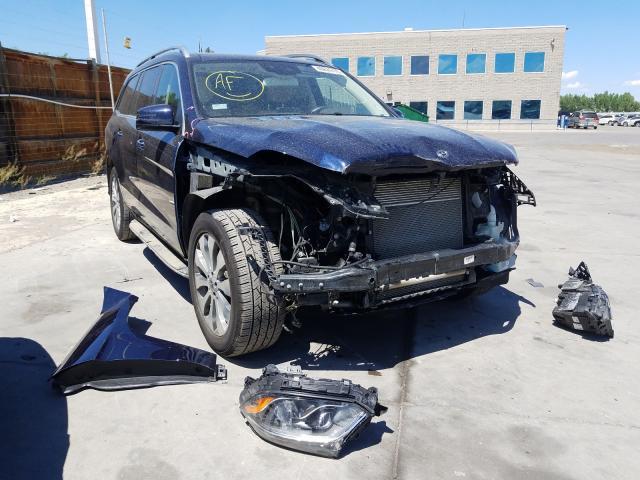 2019 Mercedes-benz Gls 450 4m 3.0. Lot 40624770 Vin 4JGDF6EE2KB193942