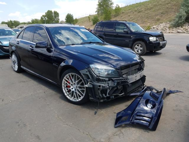 2010 Mercedes-benz C 63 amg 6.2. Lot 41964690 Vin WDDGF7HBXAF506404