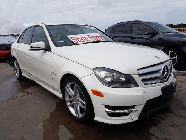 2012 Mercedes-benz C 250 1.8. Lot 41783520 Vin WDDGF4HB8CA639807