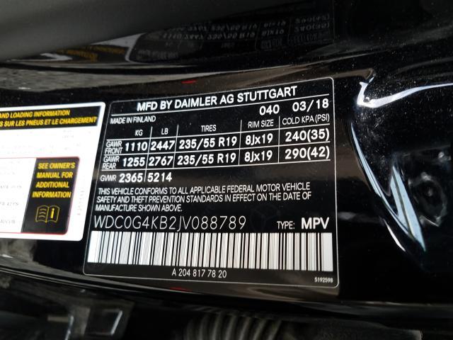 2018 Mercedes-benz Glc 300 4m 2.0. Lot 40761770 Vin WDC0G4KB2JV088789