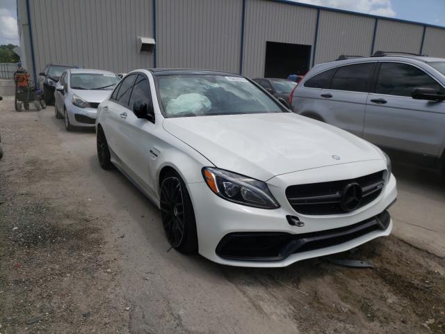2017 Mercedes-benz C 63 amg-s 4.0. Lot 43453910 Vin 55SWF8HB6HU230893