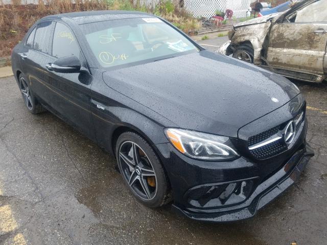 2017 Mercedes-benz C 43 4mati 3.0. Lot 42650080 Vin 55SWF6EB7HU231026