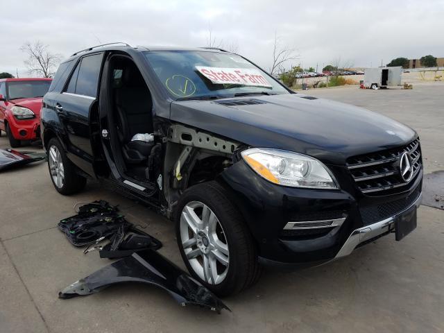 2015 Mercedes-benz Ml 350 3.5. Lot 43938100 Vin 4JGDA5JB9FA561811