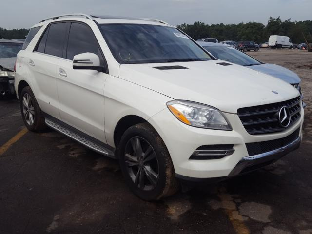 2013 Mercedes-benz Ml 350 3.5. Lot 44613410 Vin 4JGDA5JB1DA248250