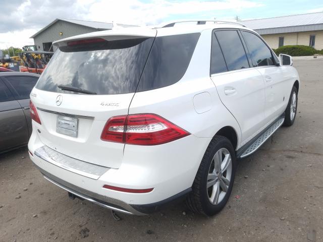 2015 Mercedes-benz Ml 350 4ma 3.5. Lot 45183770 Vin 4JGDA5HB5FA552805