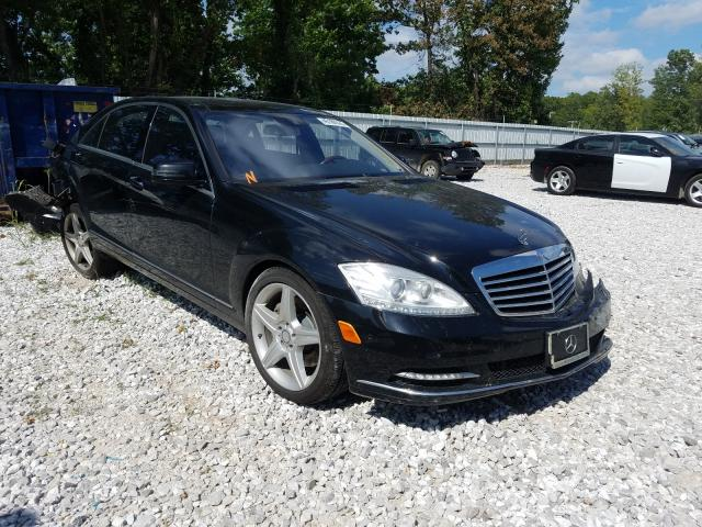 2011 Mercedes-benz S 550 4mat 5.5. Lot 45188320 Vin WDDNG8GB8BA400379