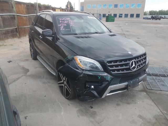2014 Mercedes-benz Ml 550 4ma 4.6. Lot 45732270 Vin 4JGDA7DB1EA314398