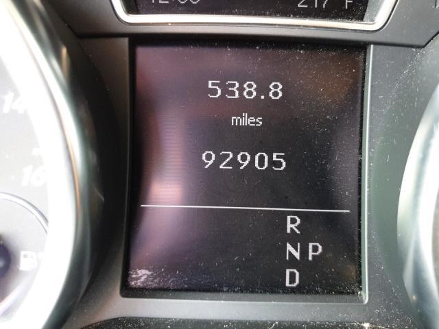 2012 Mercedes-benz Ml 350 4ma 3.5. Lot 45826820 Vin 4JGDA5HBXCA000731