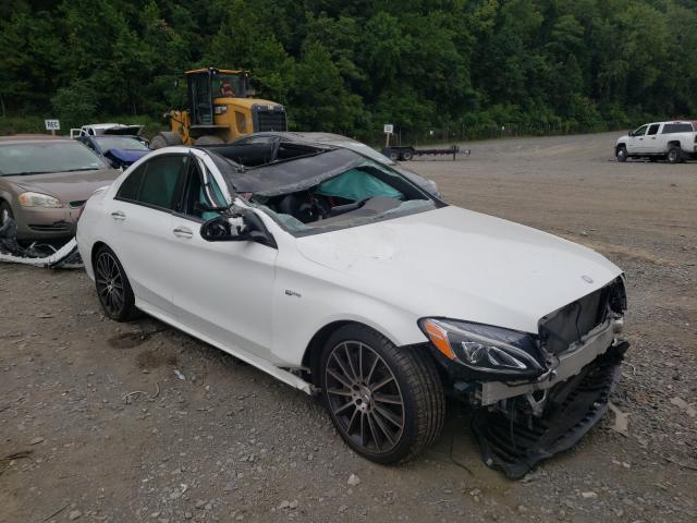 2017 Mercedes-benz C 43 4mati 3.0. Lot 45147690 Vin 55SWF6EBXHU193310