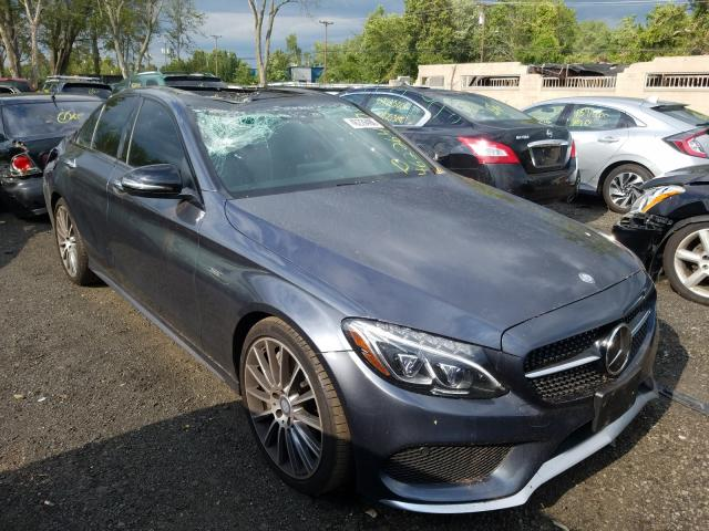 2016 Mercedes-benz C 450 4mat 3.0. Lot 46226490 Vin 55SWF6EB9GU160782