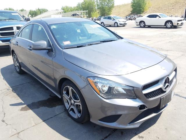 2014 Mercedes-benz Cla 250 2.0. Lot 46252430 Vin WDDSJ4EB8EN037658
