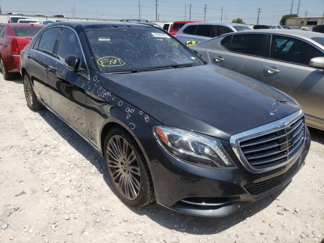2017 Mercedes-benz S 550 4.6. Lot 46666900 Vin WDDUG8CB9HA327632