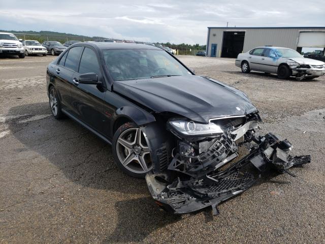 2012 Mercedes-benz C 63 amg 6.2. Lot 46590700 Vin WDDGF7HB5CA688206