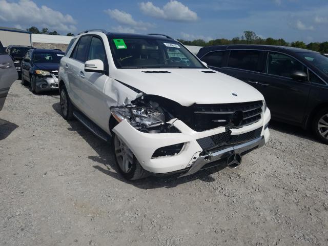 2015 Mercedes-benz Ml 350 3.5. Lot 47246880 Vin 4JGDA5JB1FA617143