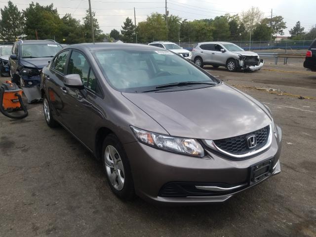 2013 Honda Civic lx 1.8. Lot 47663550 Vin 19XFB2F5XDE095280